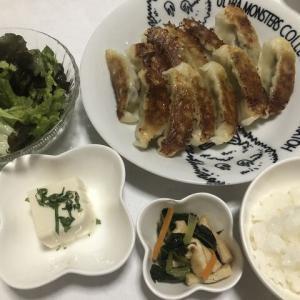 昨日の晩御飯*餃子*