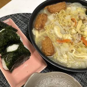 昨日の晩御飯*煮込みラーメン*