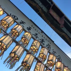 四天王寺さんで盆踊り!