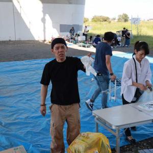 遅くなりました2019.10.5多摩川花火大会