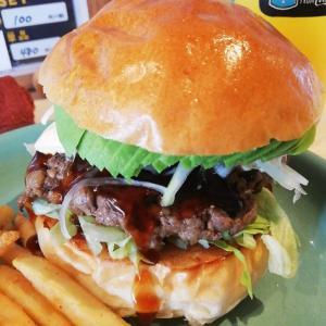 【豊田市ランチ】66DINERのボリューミーなハンバーガーをクーポン半額で♪