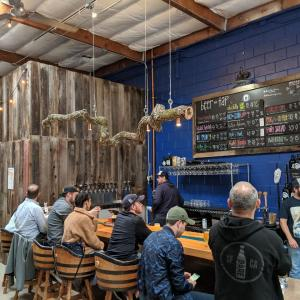 サンカルロスのハイウェイ沿いのブリュワリー:Blue Oak Brewing Co.