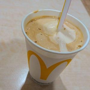 マックシェイク マウントレーニア カフェラッテ味を飲みました