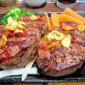 いきなりステーキイオン富津店 期間限定ジャンボステーキフェアでWヒレステーキ400グラム