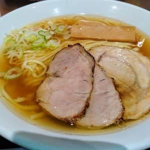 千葉駅構内 松戸 富田麺業でラーメン並を食べました