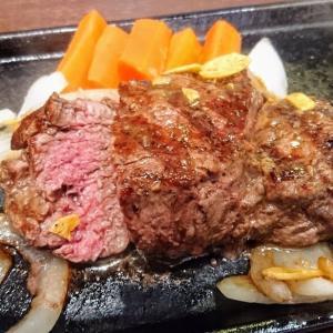 いきなりステーキ 木更津店でヒレステーキを食べました