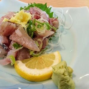 館山 とまや食堂であじたたき定食を食べました