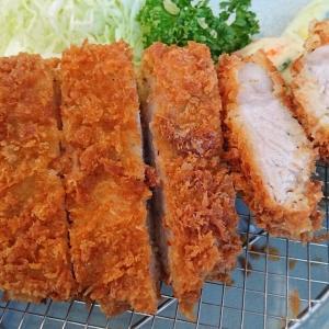 館山 とんかつやで黒豚ロースカツ定食を食べました(鹿児島県産黒豚のロースかつ)