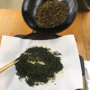 日本茶がおいしい
