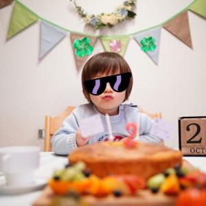 Happy 2nd Birthday!!お誕生日パーティー