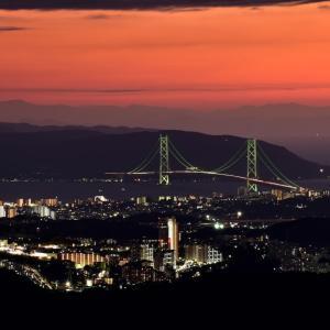 神戸の夜景/菊水山