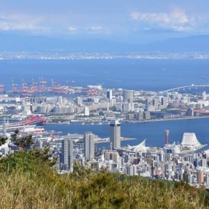 五月晴れの菊水山