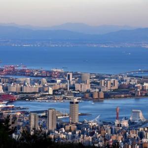 菊水山 夕景
