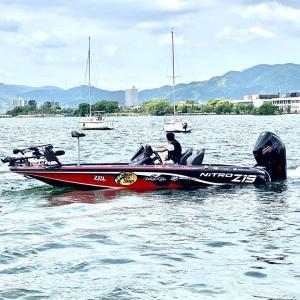 日本一の ナイトロボートアングラー