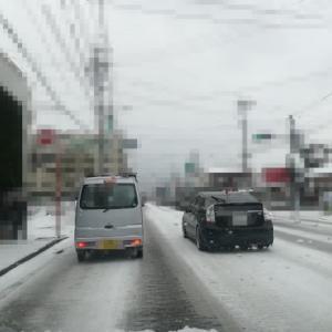 福岡でも寒波で大雪