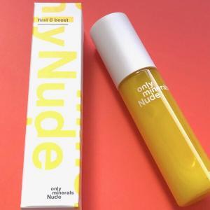爽やかな香りの美容液「オンリーミネラル Nude ファースト C ブースト」