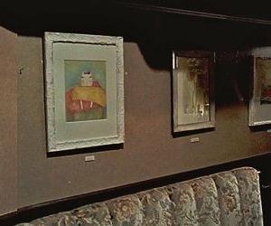 個展 左の壁の絵達