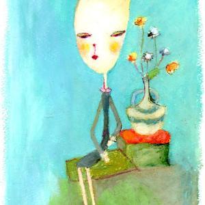 作品紹介『両把手の花瓶』『オレンジの時』『いちごのドレス』
