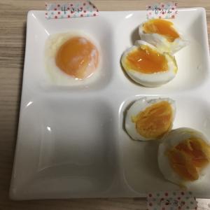 卵のゆで時間を変えるとどうなる?