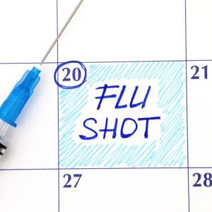 インフルエンザの予防接種を受けてみた