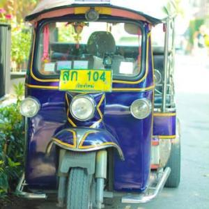 Thailandへ。。。(交通編)