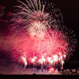 諏訪湖祭湖上花火大会・全国新作花競技大会は中止になりました