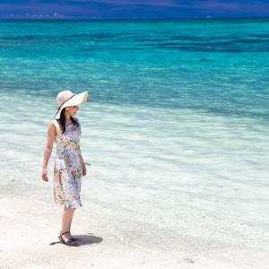 ■避暑地 沖縄■ 気温データで見る夏の沖縄 (冬はもちろん暖かい)