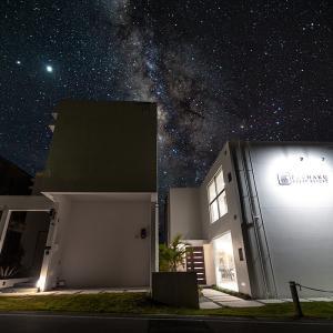 ■オーシャンヴィラ富着沖縄■ 3万円で200㎡ 広〜い白亜のデザイナーズヴィラに泊まる