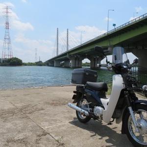 昼飯バイク散歩('21.07.28)