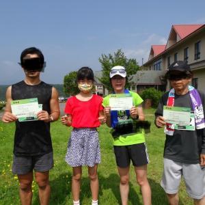 兄弟で、親子で、マラソンデビュー(^^)