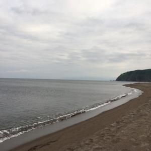 2018.6.17 日本海側サーフからの岩内漁港へ