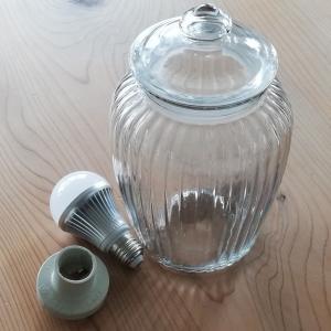 【DIY】ガーデン用ボトルライトを作る
