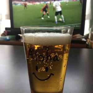 パパ、ビール・北海道コンサドーレ札幌(GW Day8)