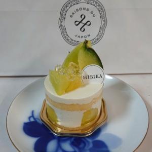 憧れのHIBIKA✨夏果実メロンのショートケーキ