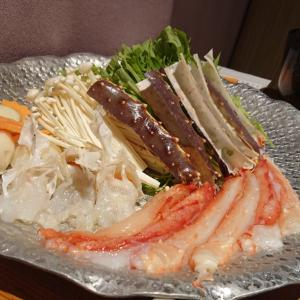カニと松茸のコース料理♪o((〃∇〃o))((o〃∇〃))o♪