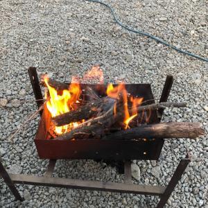 アウトドア記録ナンバー3 今日の焚き火