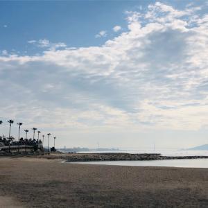 22日、海辺カフェ、もどかしい自分
