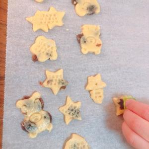 1月17日クッキー&餃子づくり