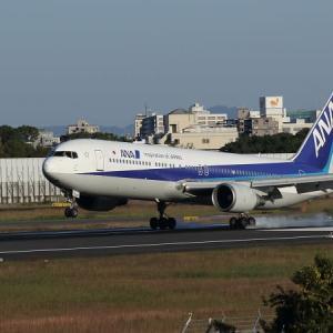 ANA機 着陸