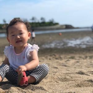 海浜公園へ行きました
