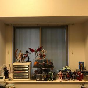 【DIY】プラモデル用ディスプレー棚を作る③
