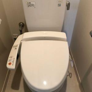 トイレの工事完了(^^)