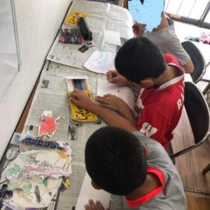 プラ板作り~春日教室~