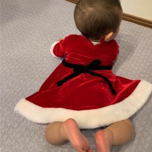 クリスマスのコスプレ?