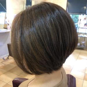 お客さまの髪本来の「艶」を引き出すカット♪