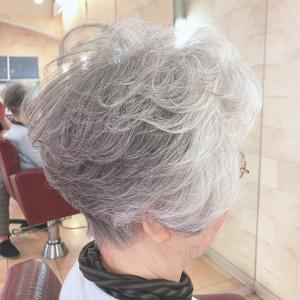 80代☆パーマで叶える『楽ちんエレガント』な髪型♪