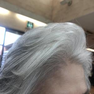 80代☆こんな前髪好きなんです!したかったんです!って言われる☆80代のふんわり立ち上げバング♪