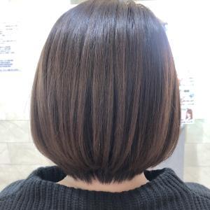 30代☆小顔効果・髪の扱いやすさ・スタイルの持続性☆ボブはあごから±3cm以内がいい感じ♪