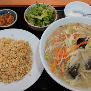 東千葉の中華料理、一品香で頂く豚肉入り野菜タンメン&半チャーハンランチ サービスしすぎなデカ盛りに加え、男女の出会いも斡旋??