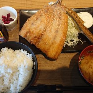 西千葉駅から徒歩5分、一里ヶ浜珈琲で初ランチ 絶品唐揚げに味噌ダレ餃子を差し置いて、大判アジフライ定食を食べてみた